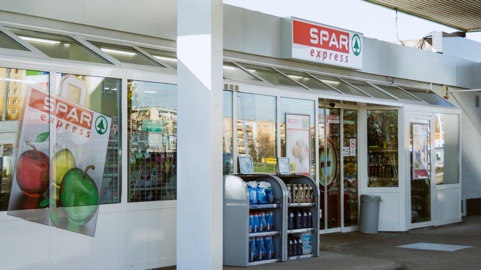 SPAR express OMV benzinkúton