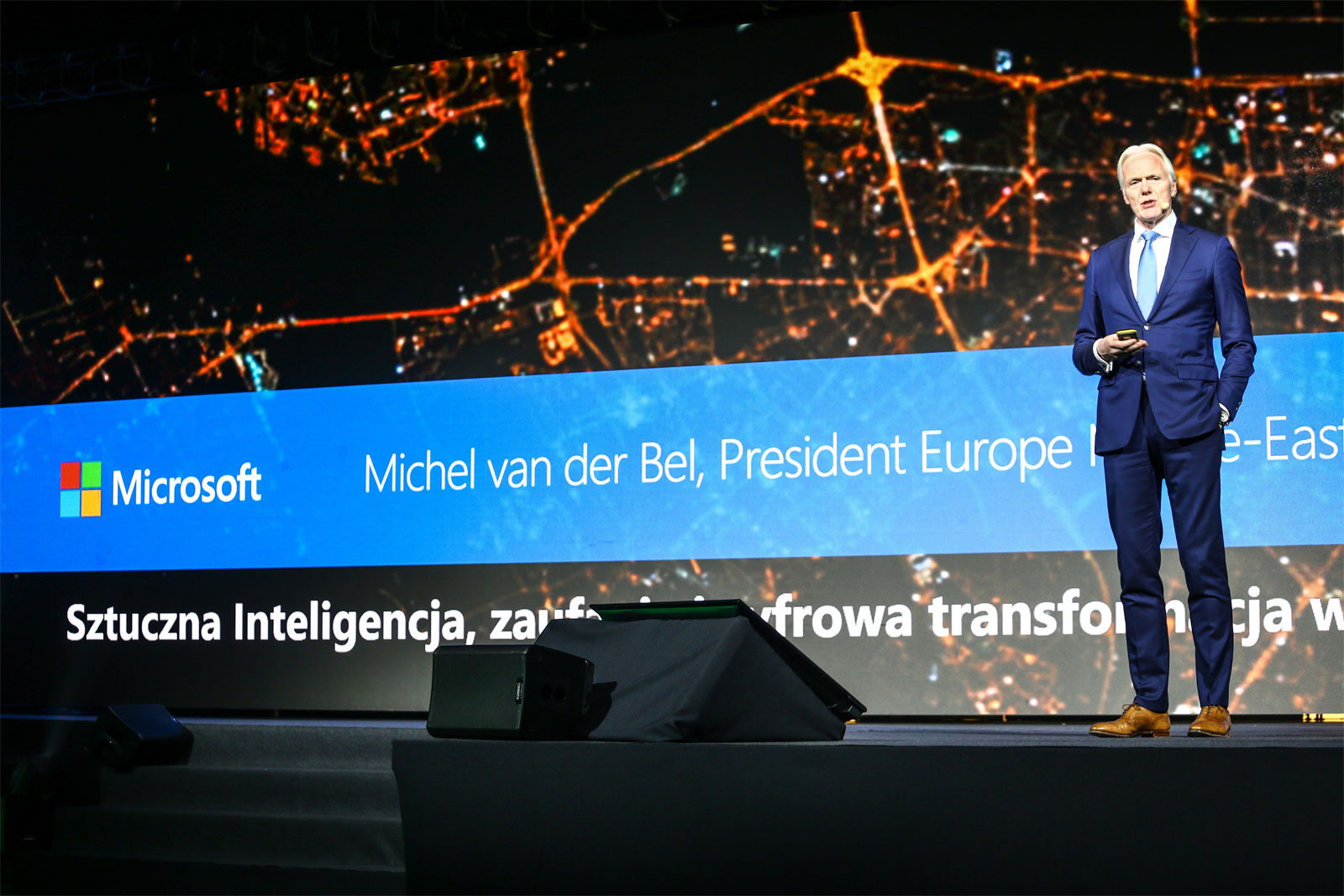 Michel van der Bel, wiceprezes Microsoft na Europę, Bliski Wschód i Afrykę