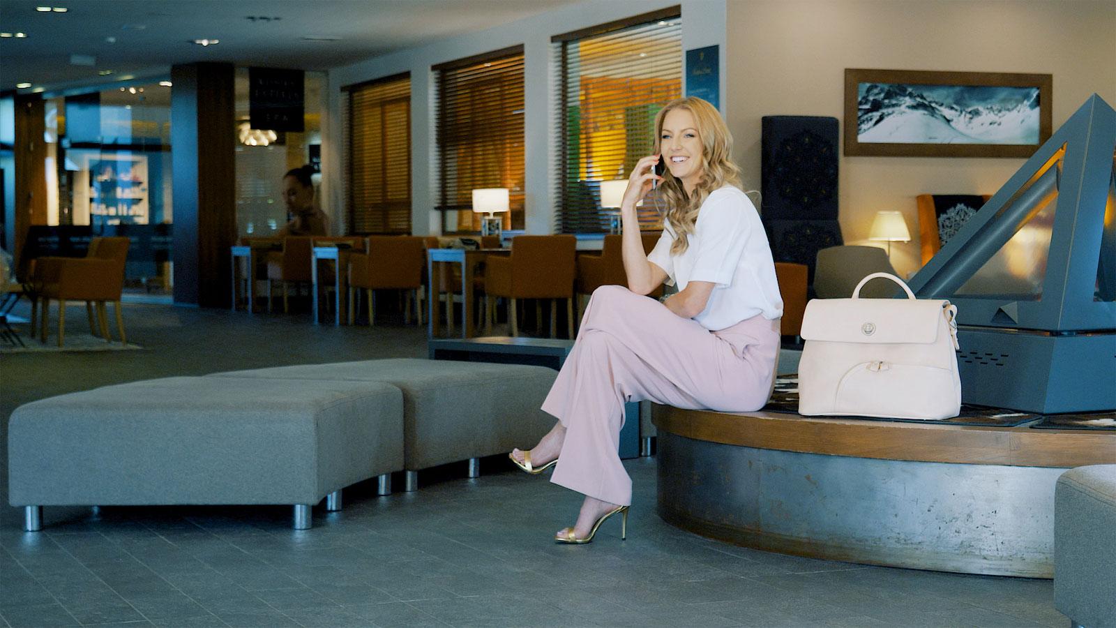 Urszula Radwańska, tenisistka, właścicielka marki UR, produkującej torebki