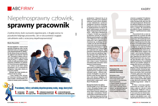 Grzegorz Pilch prezes Zarzadu Vistula Group