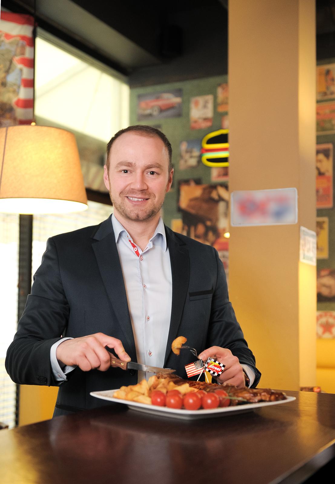 Łukasz Błażejewski, dyrektor ds. franczyzy sieci Meat&Fit: