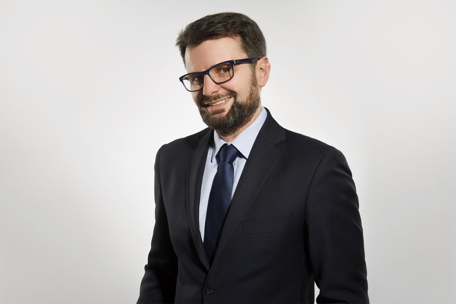 Mariusz Pietuszyński, członek zarządu firmy Straetus
