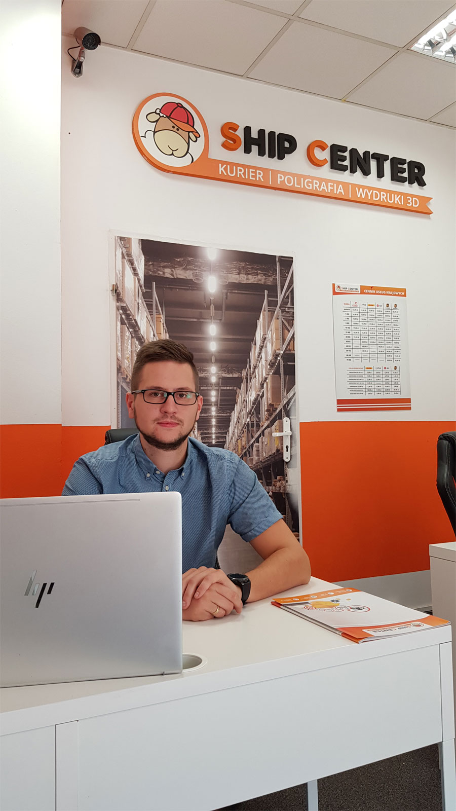 Kamil Janowski z Ship Center