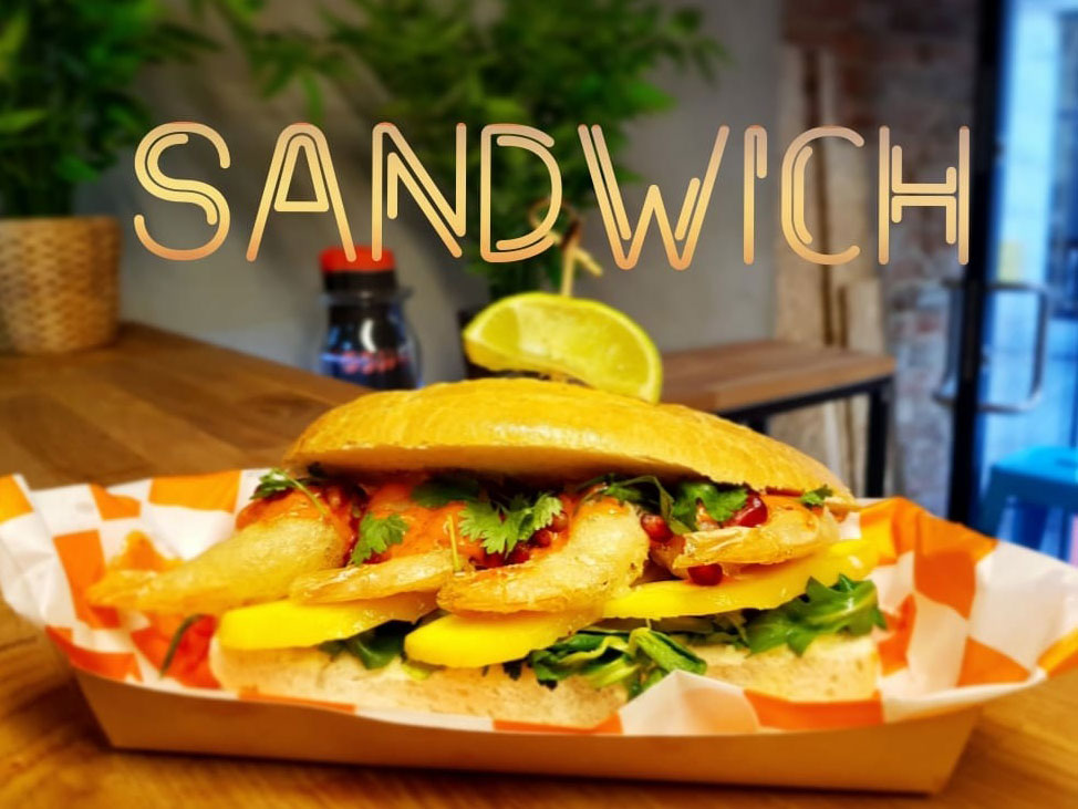 Kreweta sandwich