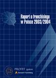 Okładka: Raport o franczyzie w Polsce 2010