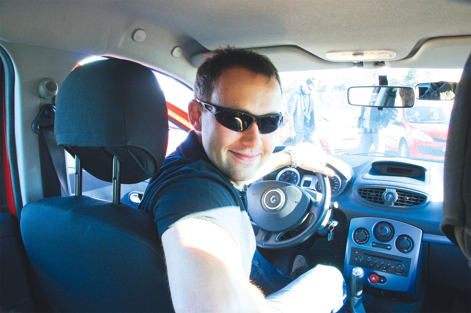 Marcin Kukawka, właściciel szkoły jazdy  HigH