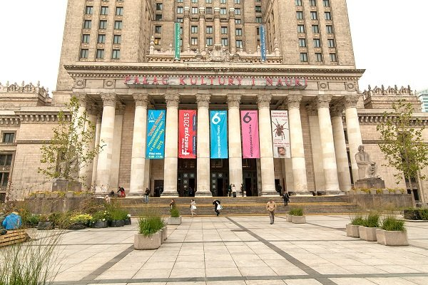 Palatului Ştiinţei şi Culturii, Varșovia