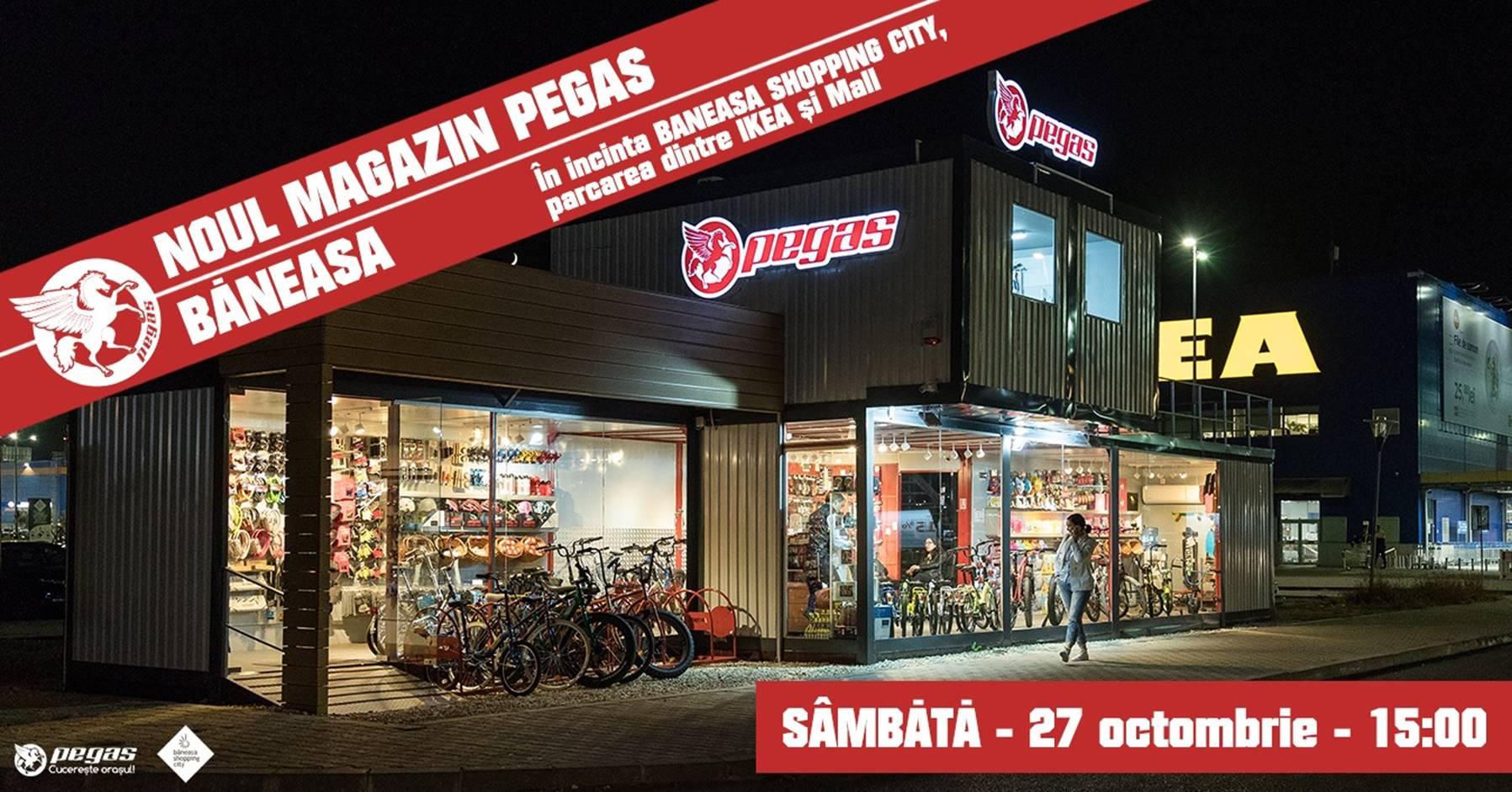 Concept store PEGAS - Băneasa