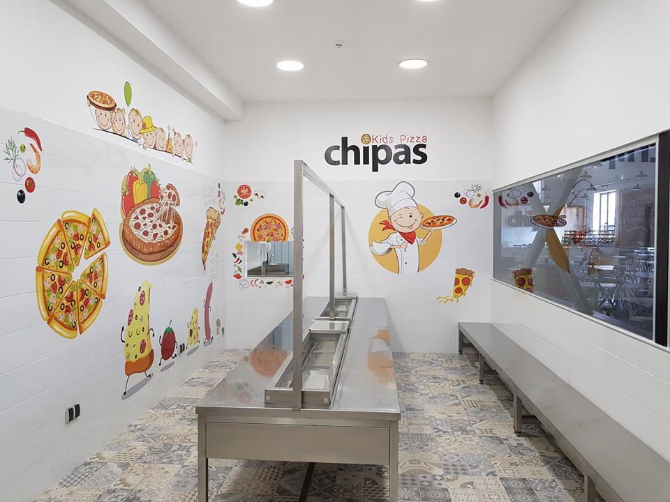 CHIPAS Kids Pizza