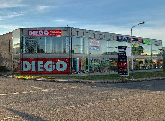 Diego franchise üzlet Prágában