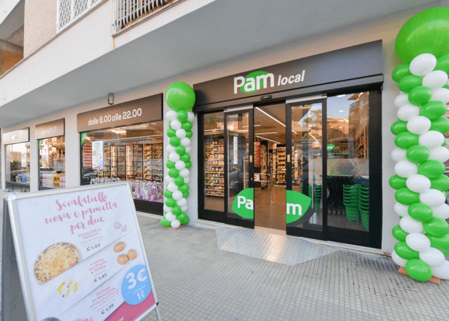 Un punto vendita Pam Local