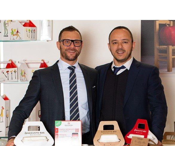 Marco Raspati e Paolo Rellini