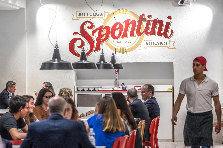 Un ristorante Spontini