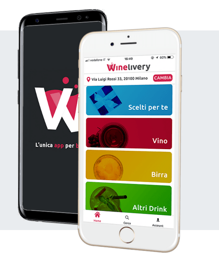 Winelivery è mobile friendly