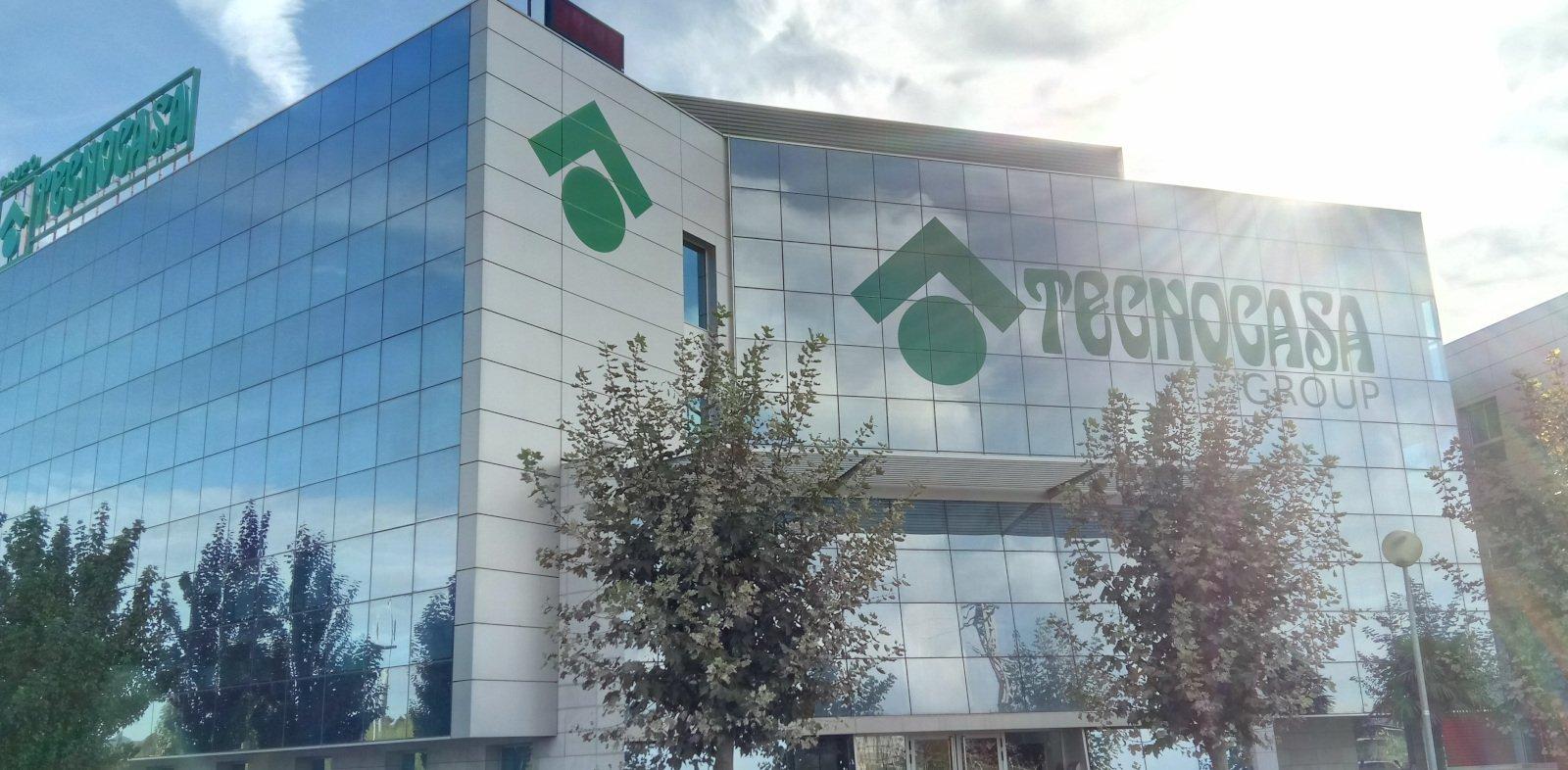 Esterno di un punto vendita Tecnocasa in Spagna
