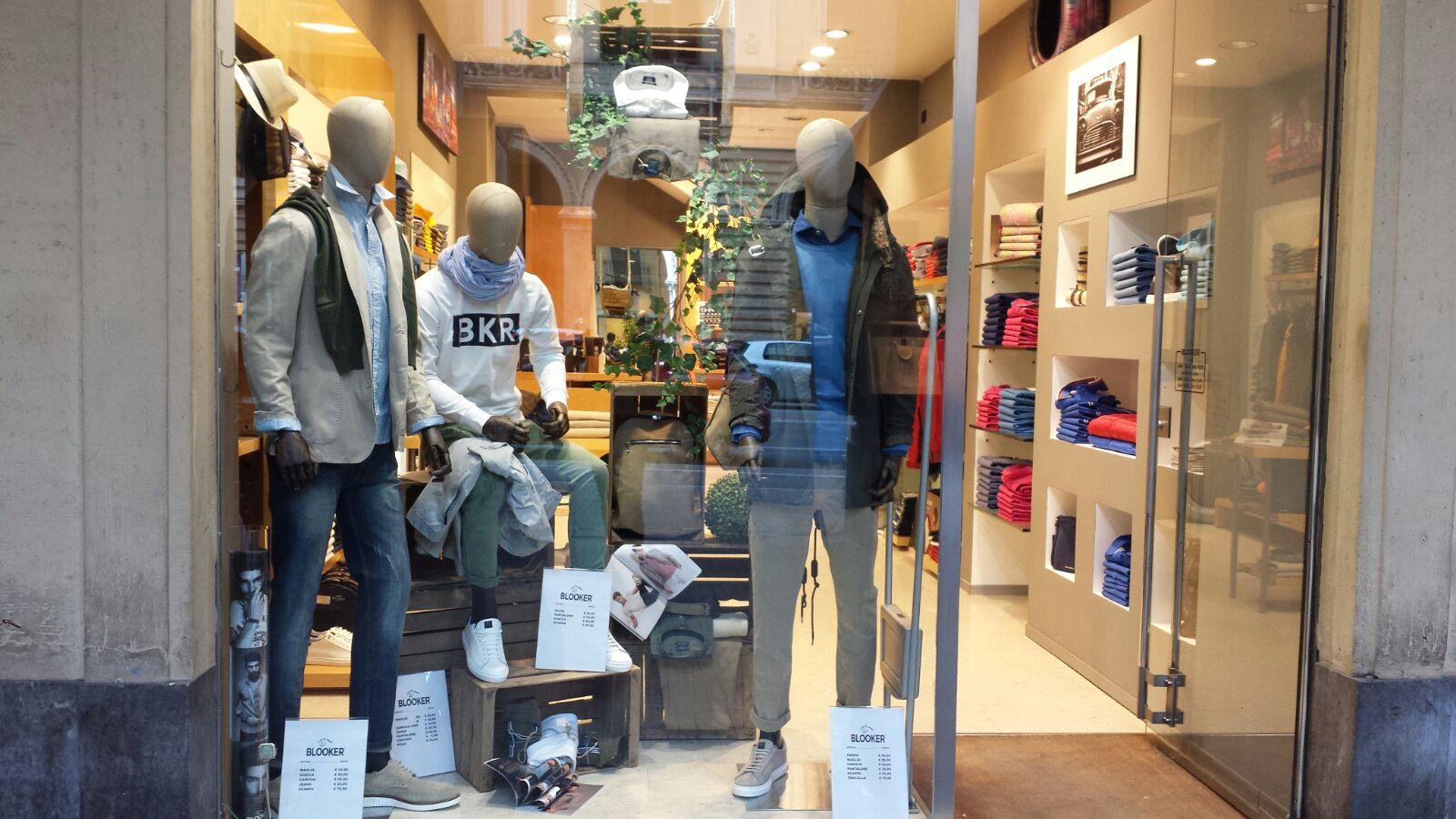 Il negozio di Cuneo