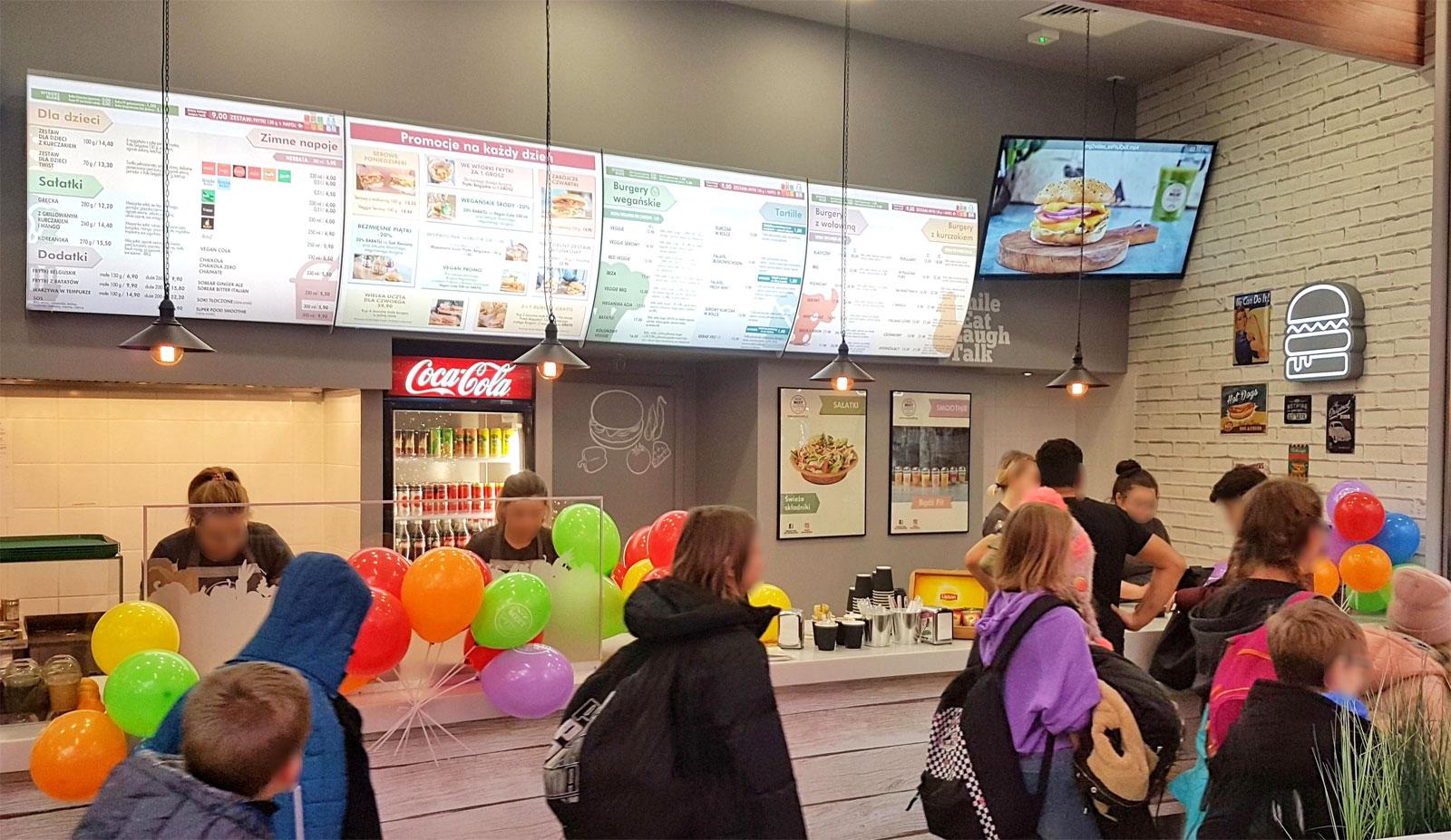 Burgery w sieci