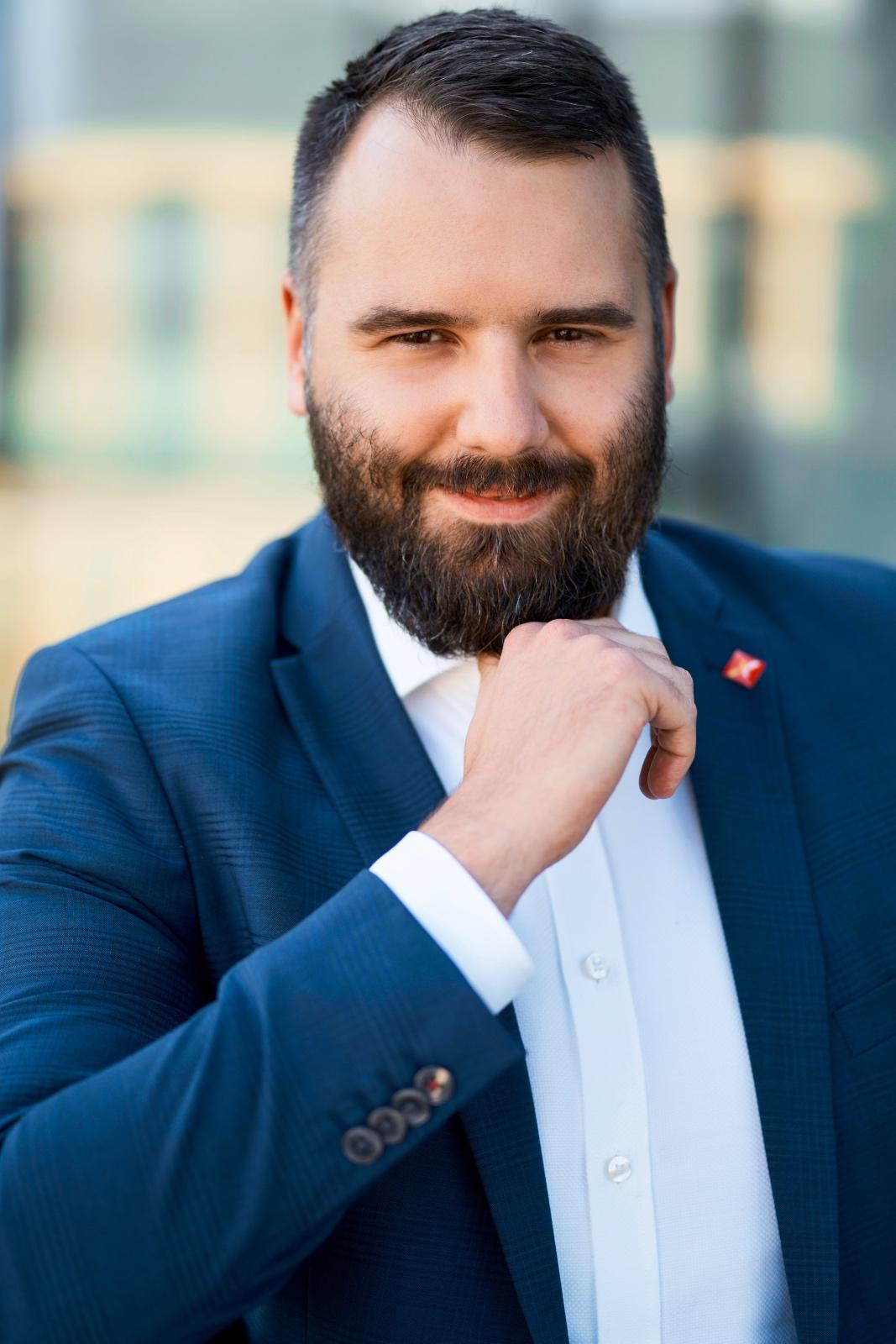 Bartosz Kwieciński, dyrektor sprzedaży w Expander,