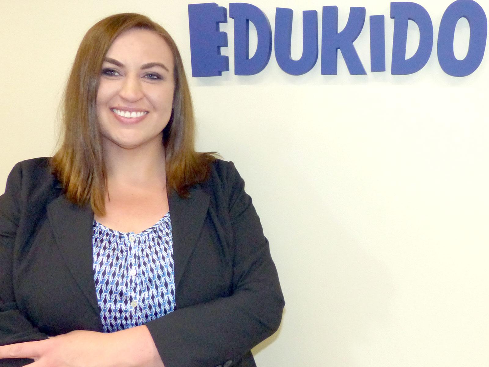 Anna Jurak, menedżer ds. obsługi klienta biznesowego Edukido