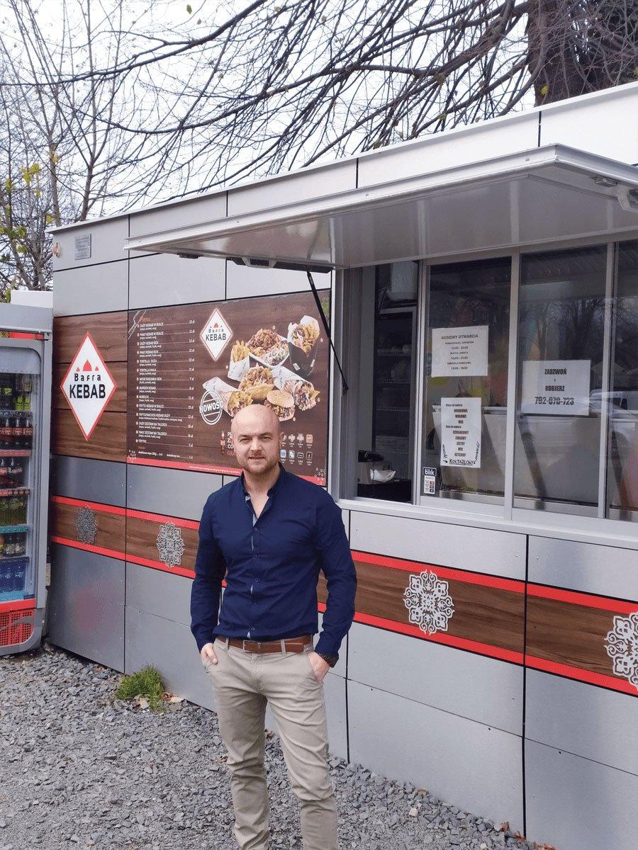 Kamil Ozdobiński, franczyzobiorca Bafra Kebab