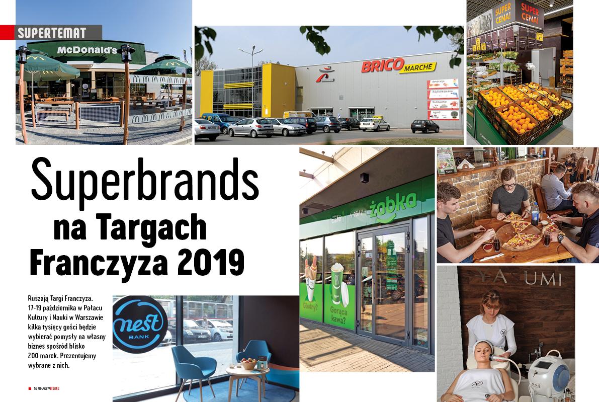 SuperBrands na Targach Franczyza 2019