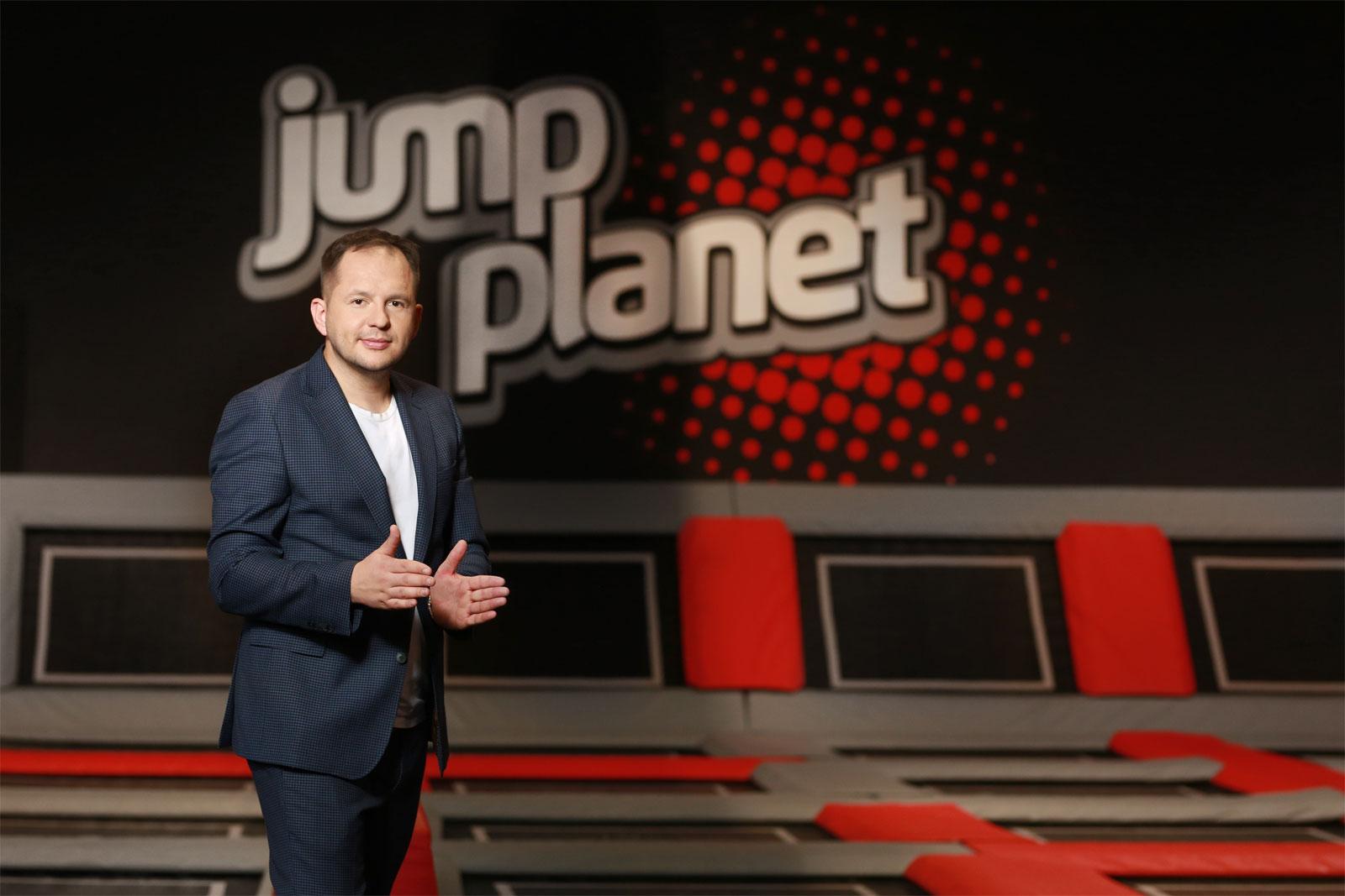 Bartosz Śledziński, właściciel firmy Jump Planet