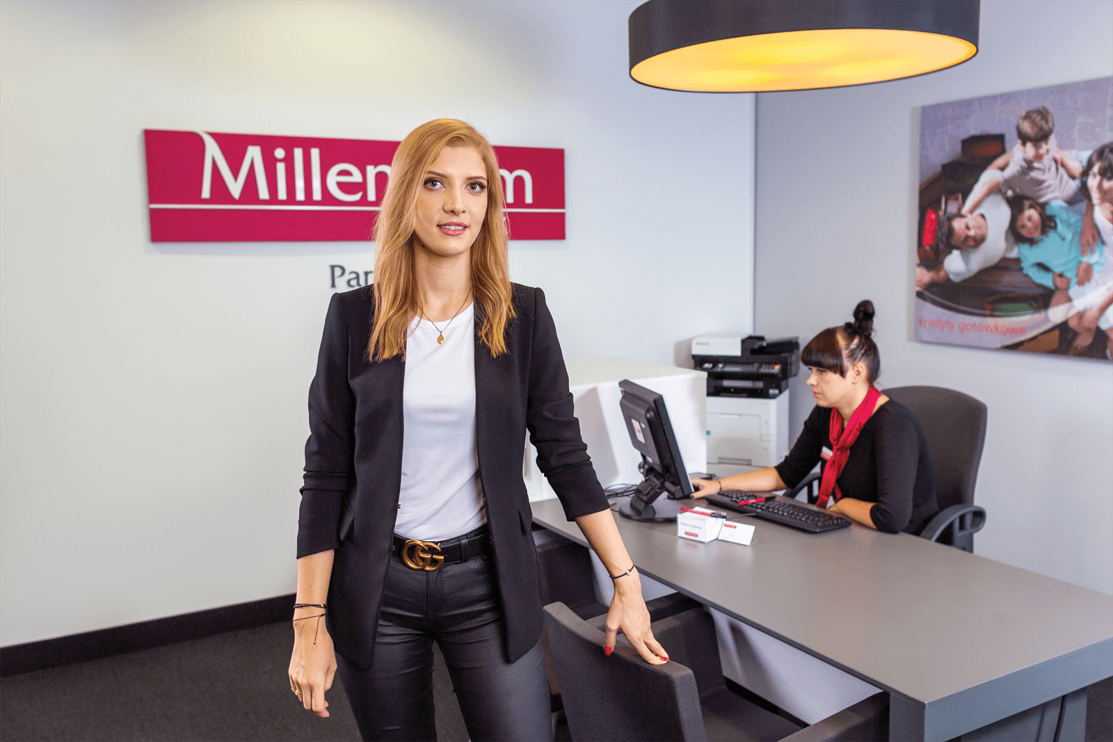 Karolina Kaczmarek, franczyzobiorczyni Banku Millennium