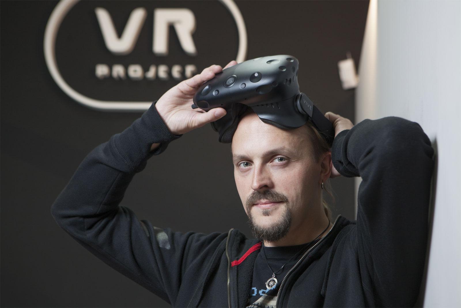 Krzysztof Jóźwiak, właściciel VR project