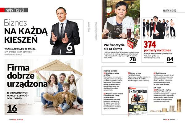 13a0322d66adb1 Miesięcznik Własny Biznes FRANCHISING możesz zamówić przez internet w  księgarni portalu Franchising.pl (pojedyncze egzemplarze, prenumerata, ...