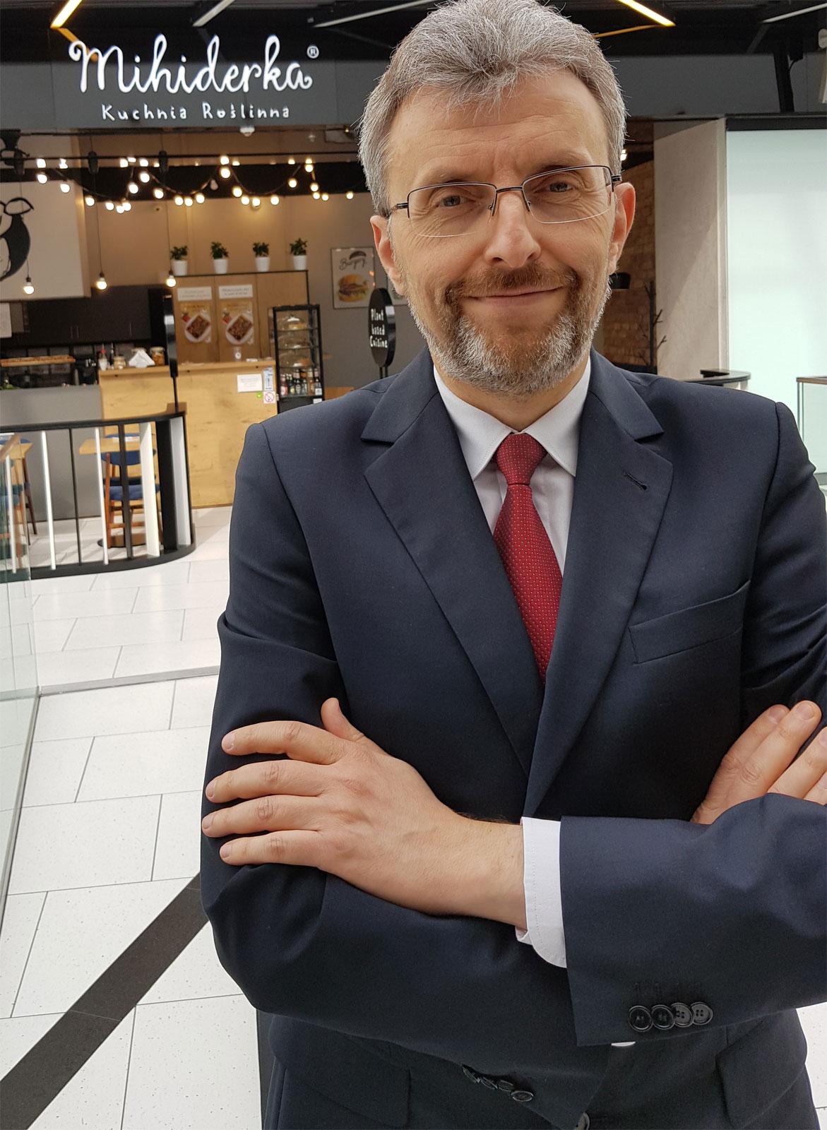 Marcin Krysiński, franczyzodawca Mihiderki