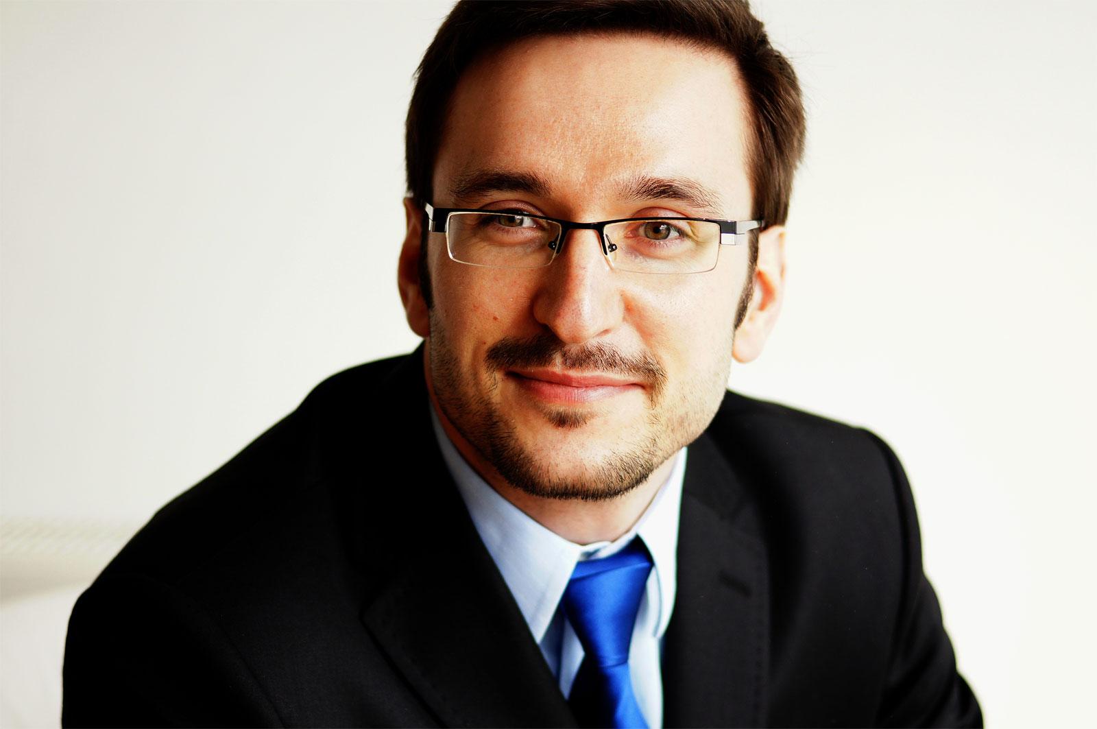Mateusz Dąbrowski, psycholog biznesu