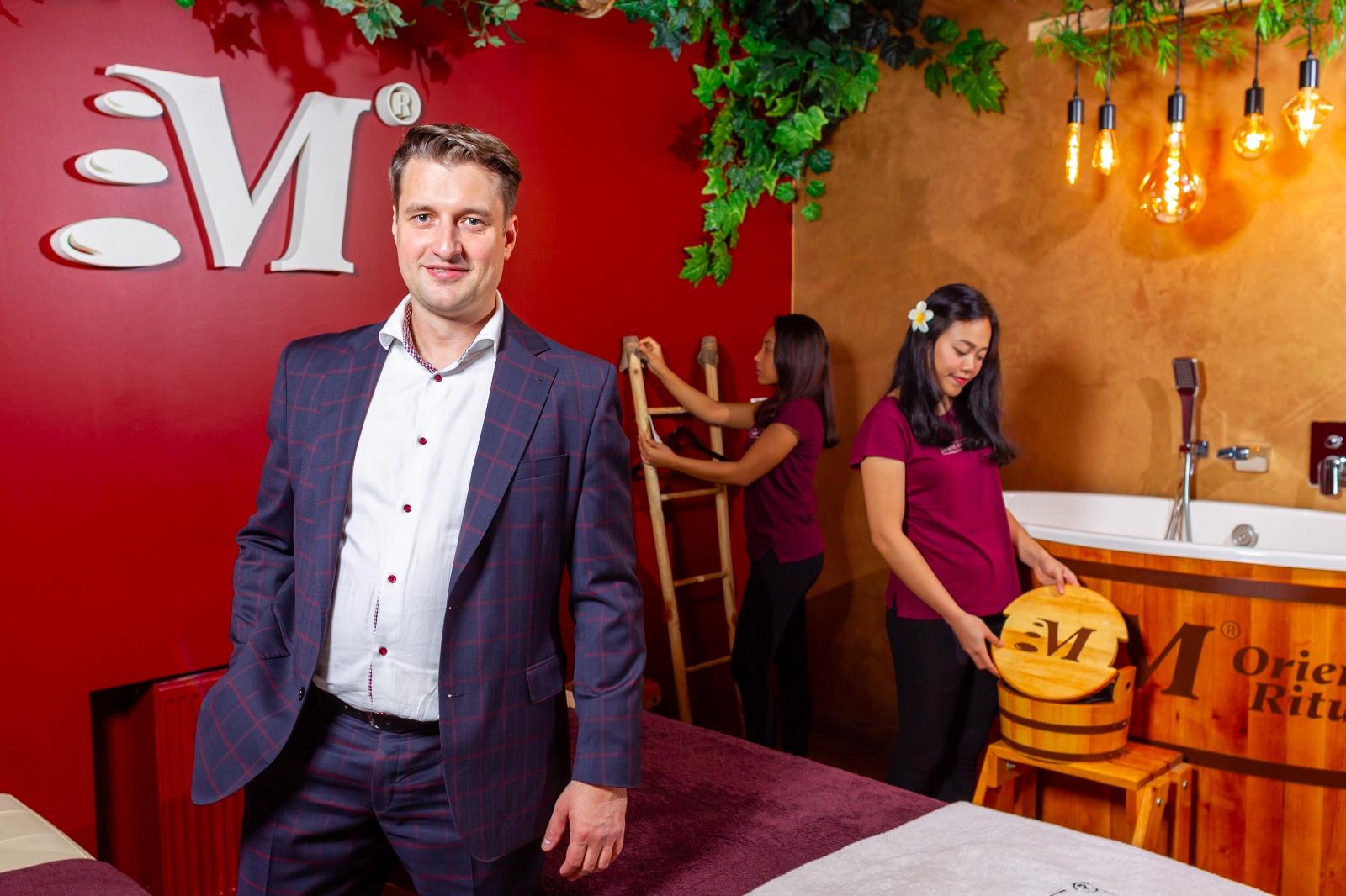 Piotr Buchalski, prezes zarządu Orient Massage