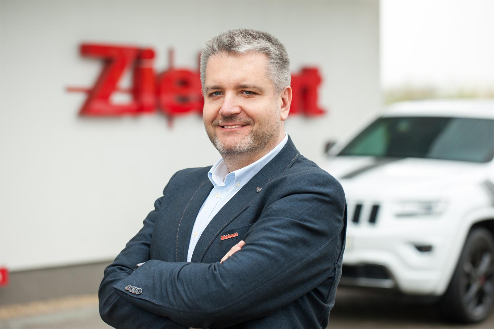 Bartosz Liszkowski, prezes Ziebart Polska.