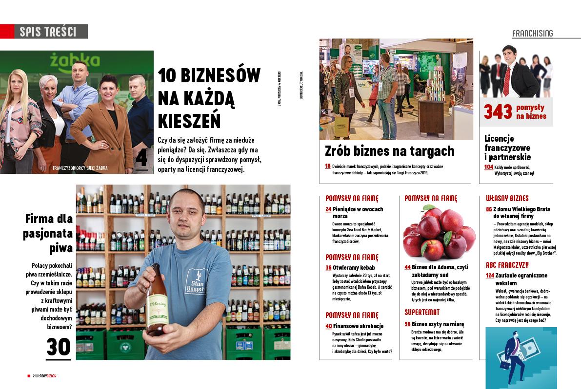 Magazyn pomysłów na biznes