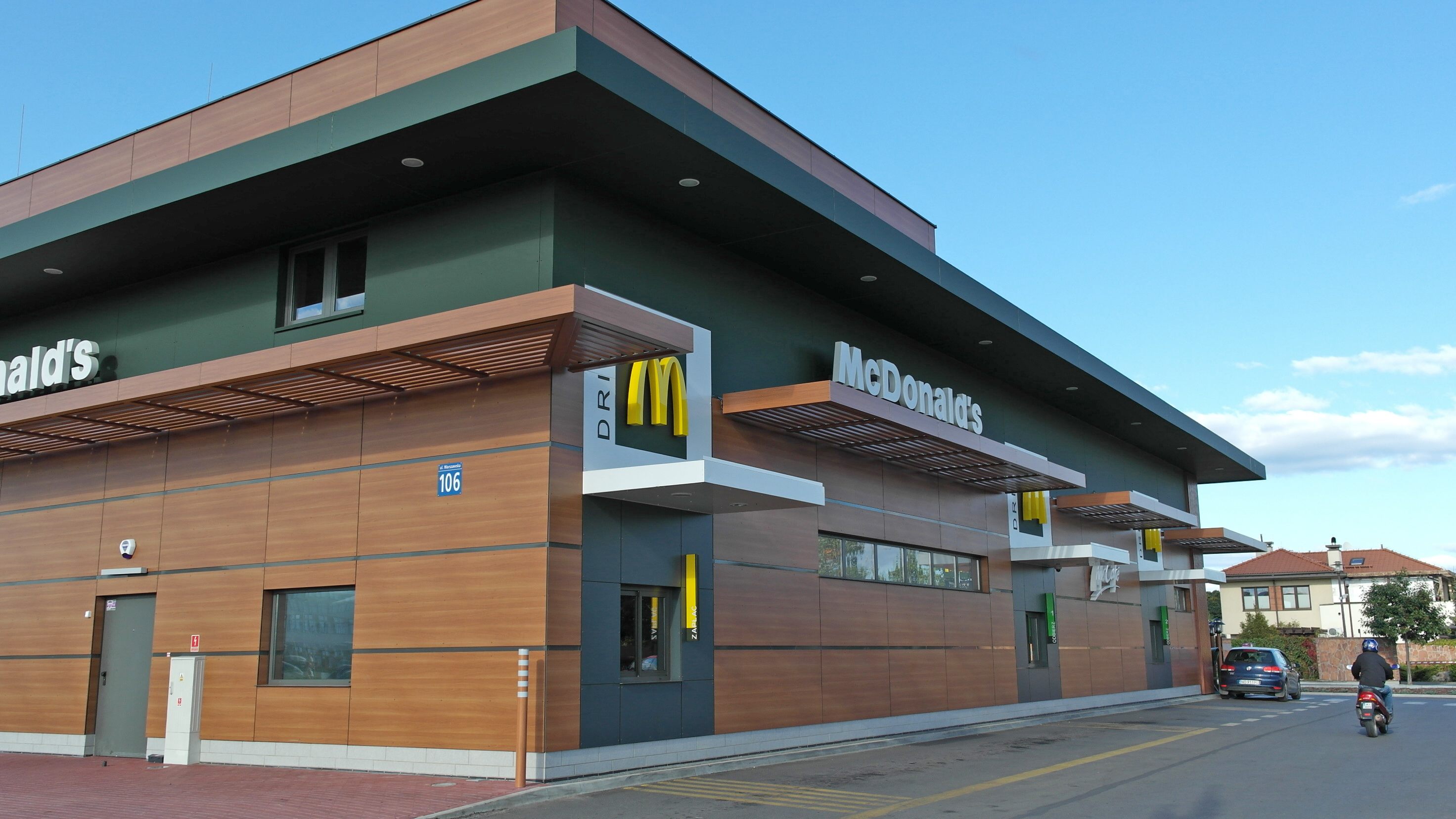 McDonald's è una delle reti in franchising più note originaria degli Stati Uniti