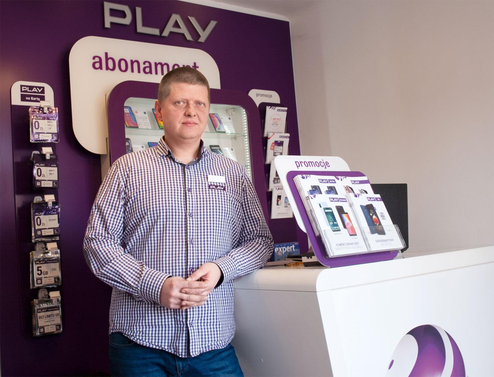 Mariusz Dworakowski, franczyzobiorca i4 mobile