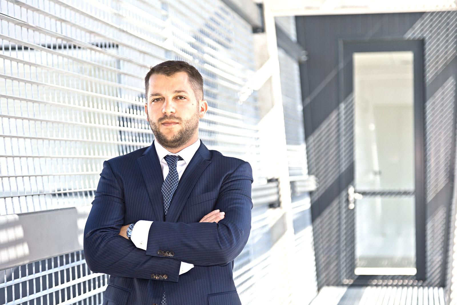 Marcin Olesiak, prezes spółki Sweet Gallery