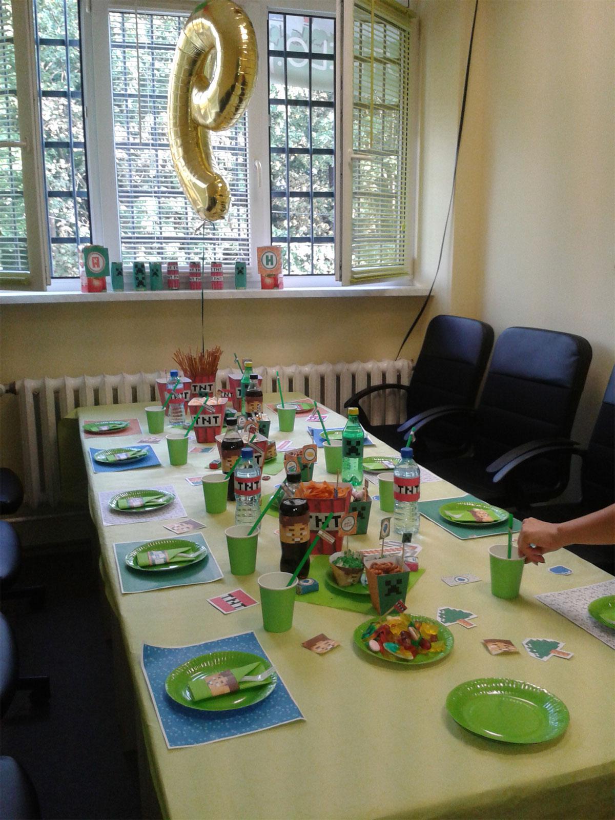 Zajęcia i urodziny
