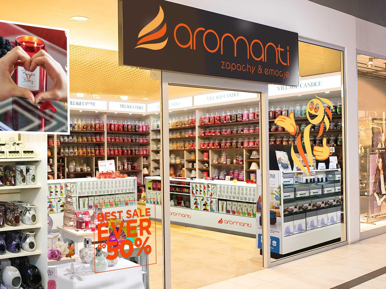 Jedyny sklep Aromanti