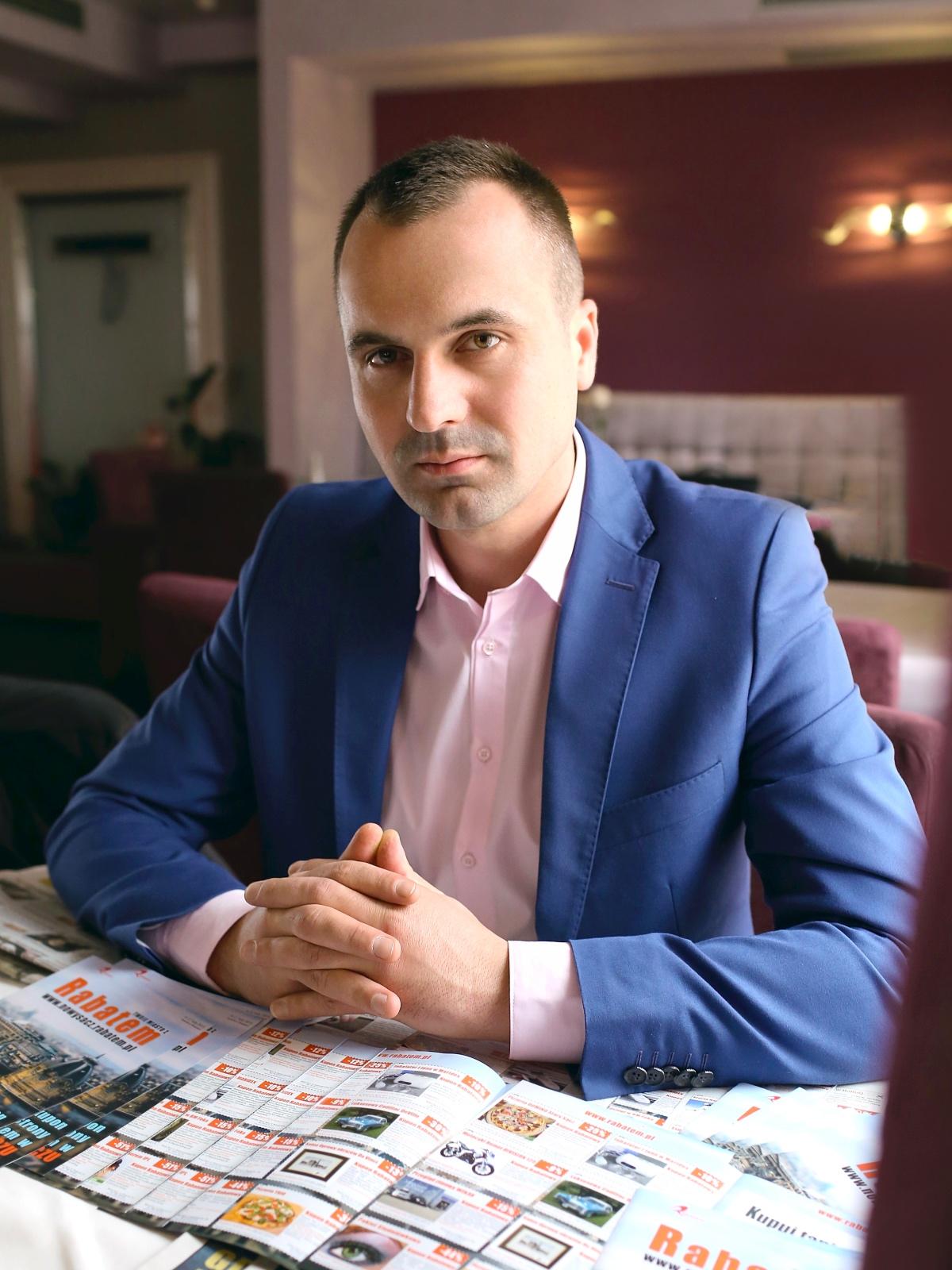 Paweł Janus, właściciel Rabatem.pl