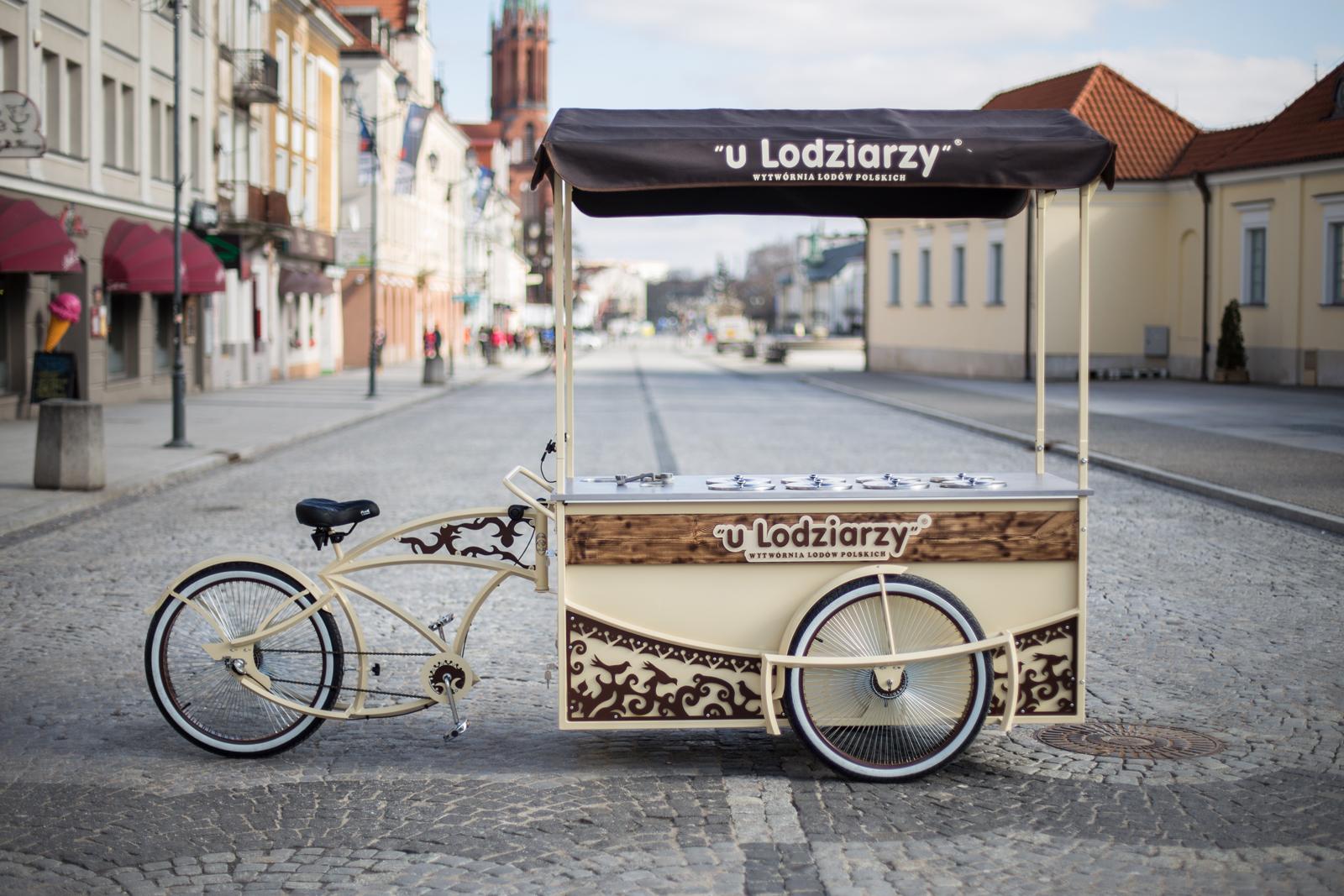 Lody z roweru