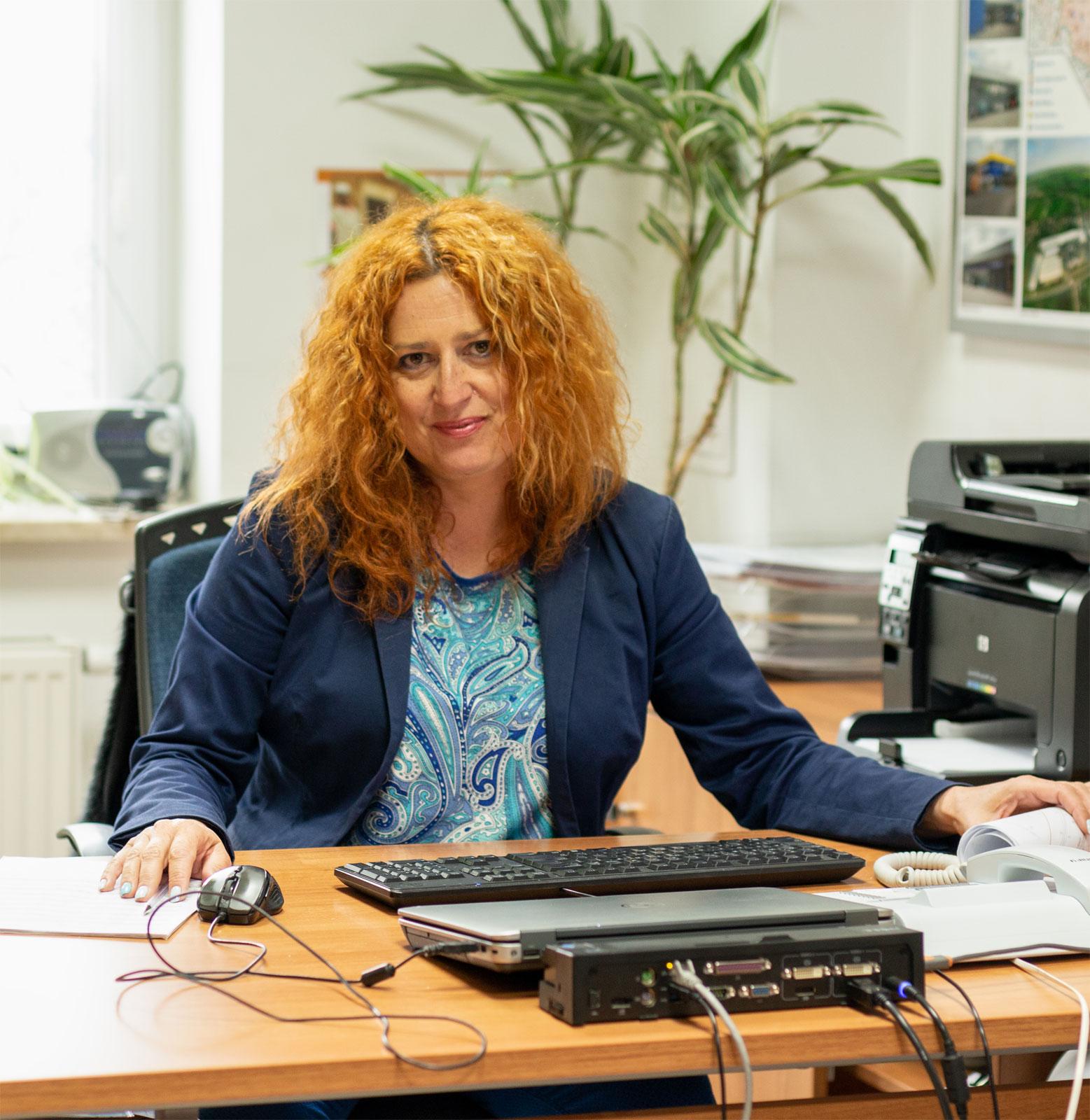 Beata Radek, Beata Radek, dyrektor ds. rozwoju PSB Mrówka