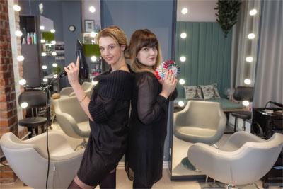 Julia Kamińska, Paulina Kałużyńska, właścicielki salonu Bonjour Madame