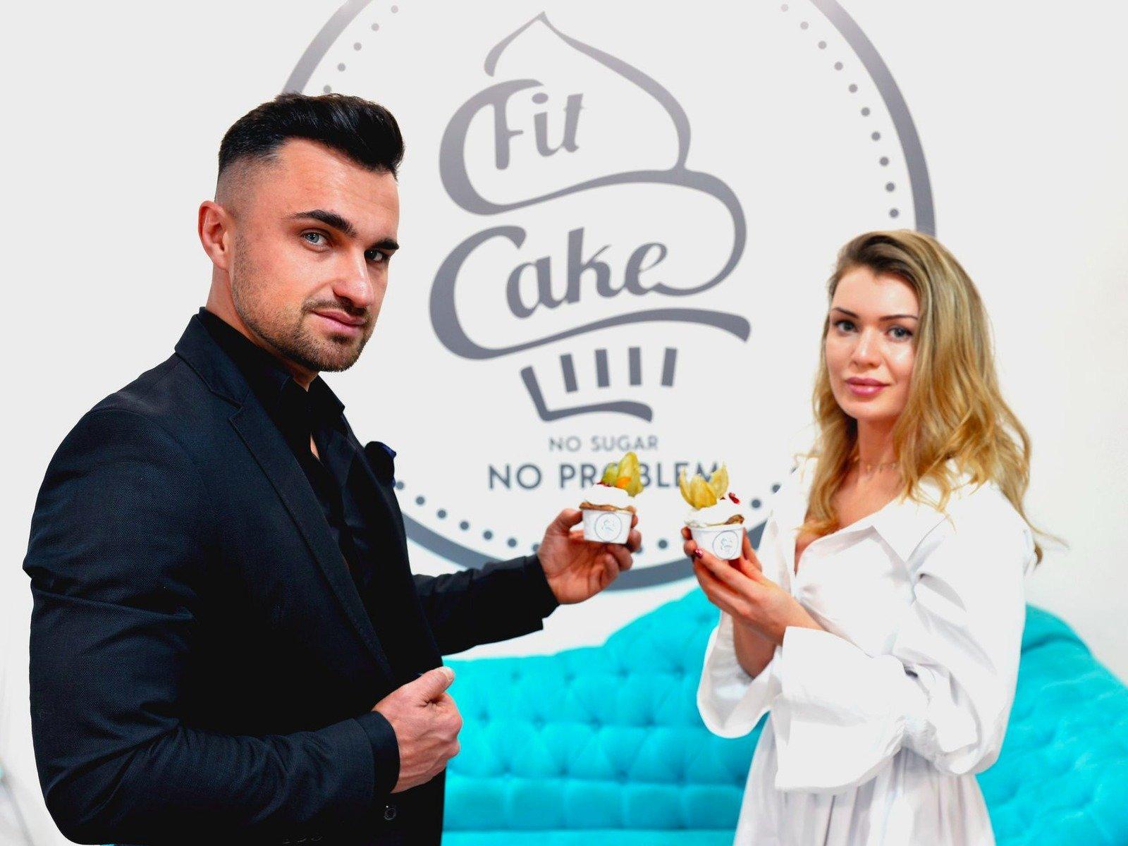 Rafał i Ewelina Kościukowie, twórcy konceptu Fit Cake