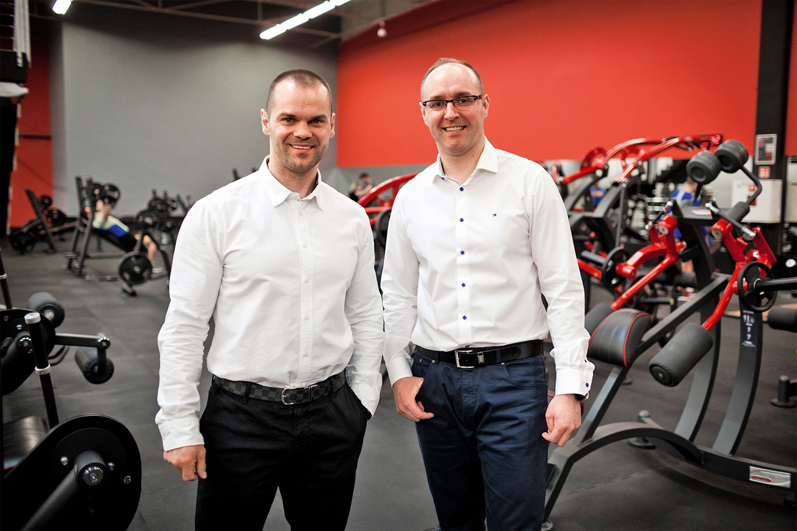 Łukasz Dojka i Łukasz Nowakowski, franczyzodawcy Xtreme Fitness Gyms
