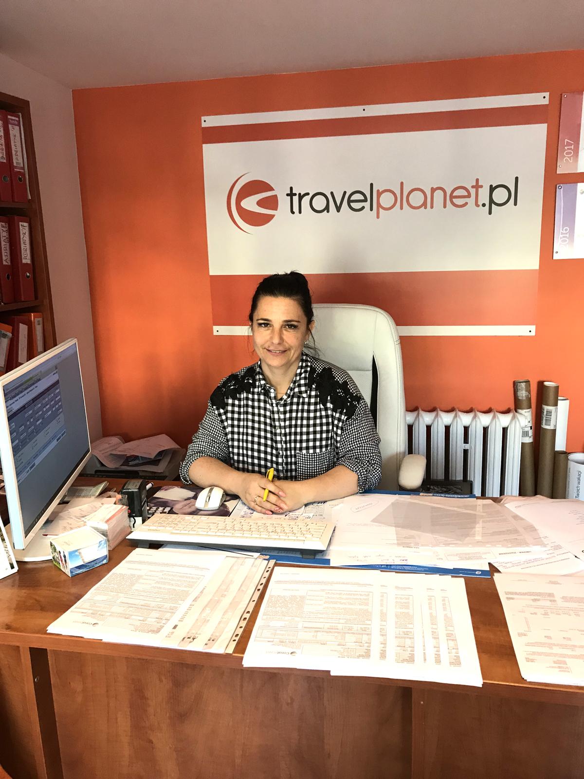Joanna Klemiato, franczyzobiorczyni Travelplanet