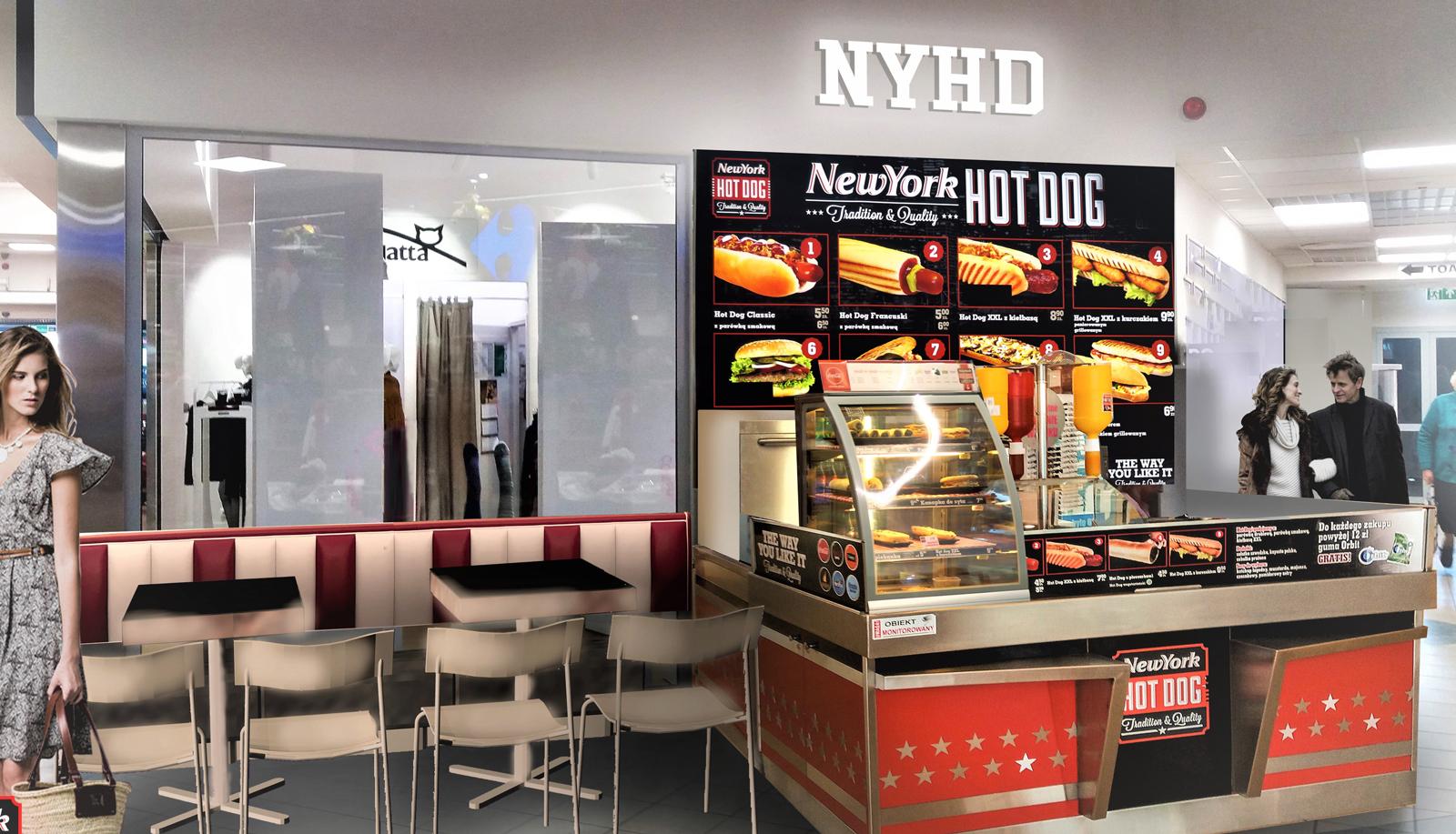 Hot dogi w sieci
