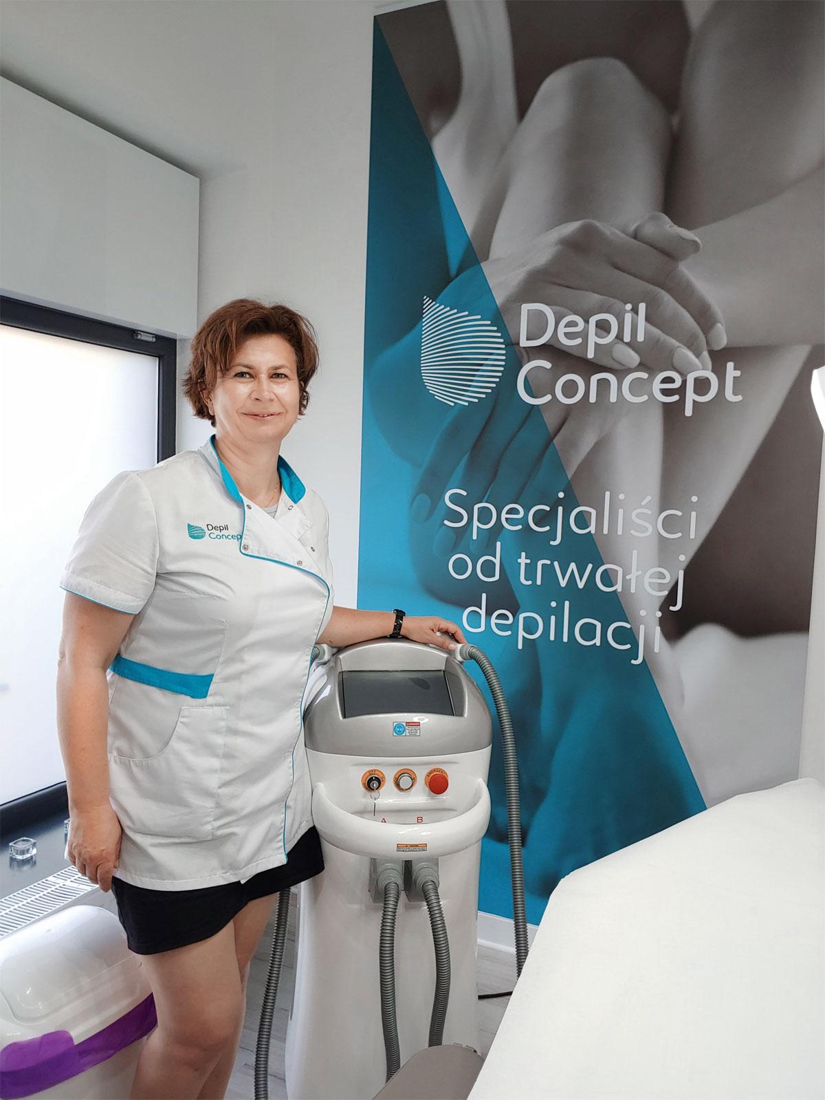 Agnieszka Koziarska-Wilkowiecka, franczyzobiorczyni Depil Concept