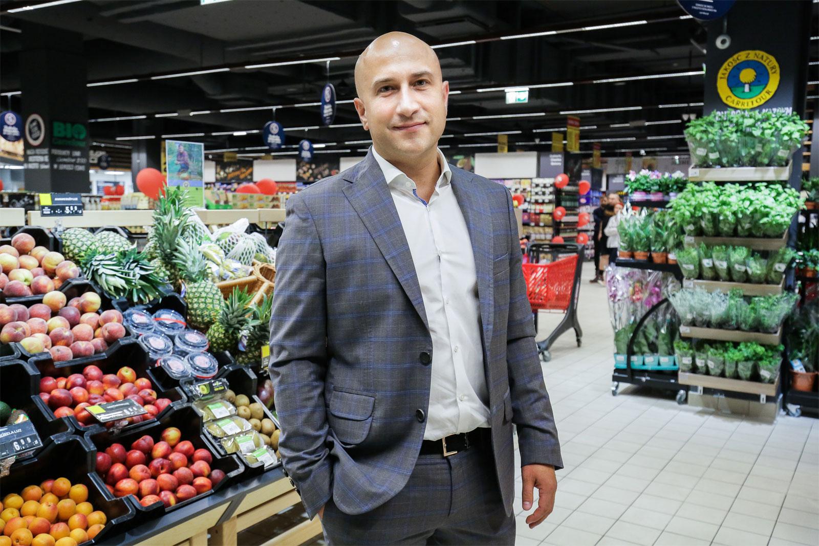 Marcin Szymański, franczyzobiorca Carrefour