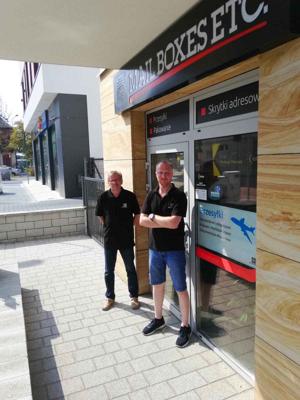 Mariusz Koper, franczyzobiorca Mail Boxes Etc. z Piaseczna
